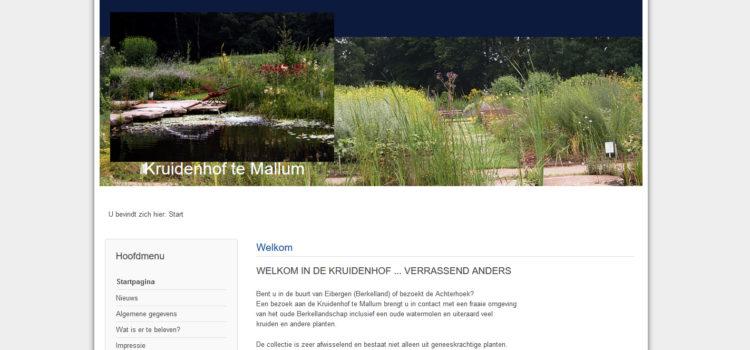 Kruidenhof te Mallum